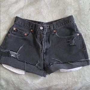 Custom Vintage Levi's Shorts